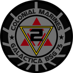 Old Meets New Colonial Marines Landram Insignia by viperaviator