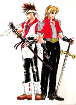 The Twin Swords of Toshinden by medhelp