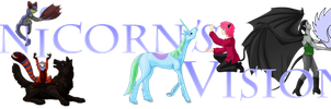 Unicorn's Visions Banner 11 Years by VGiselleH