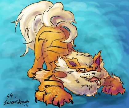 Arcanine by snagerdra
