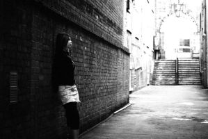 Amy Shoot - Alone in the alley by lovephotography