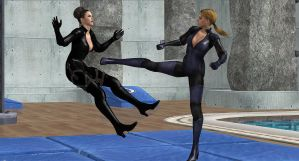 Jill-Excella COMBAT TRAINING by blw7920