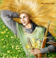 Glorfindel, Lord of the Golden Flower by annamare