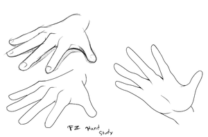 REFERENCE - Open Hand by FreakyEd