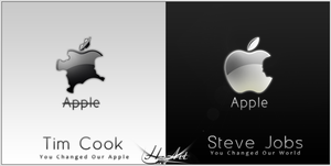 Steve Jobs  RIP by H-4rt