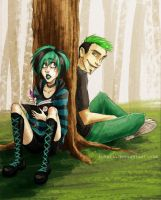 total drama - green grass by Fukari