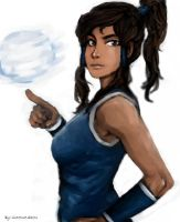 Korra air ball by molcray