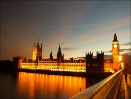 Houses of Parliament by Fohlen11