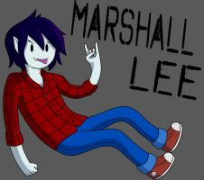Marshall Lee by sweettartslover