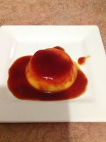 Orange twist Flan by Roses-and-Feathers
