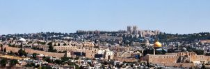 Jerusalem old city panorama by RuSs1337