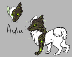 Feral Ayla by TheseWeirdFishes