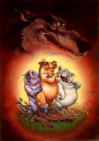 The 3 Pigs By Jozef Szekeres by Elf-Fin