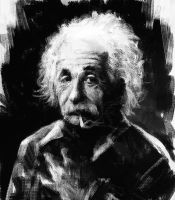 Einstein by leventep