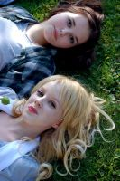 Bella and Rosalie by Molien