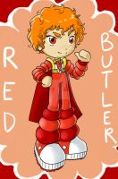 Red Butler by Loverofpiggies