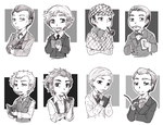 Holmes' and Watson's by Sadyna