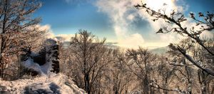 Lookout from Castle Ruins by Networ-k