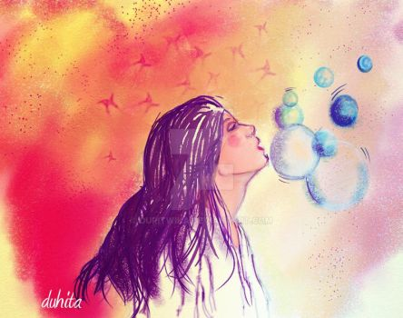 Bubbles by duritwika