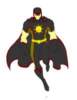 Apollo Sunscare My DC Universe Character w color by arower2020