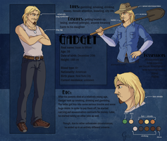 Gadget Character Sheet by Gellyh