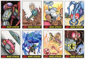 Heritage Mars Attacks! Sketch Cards - 08 by Monster-Man-08