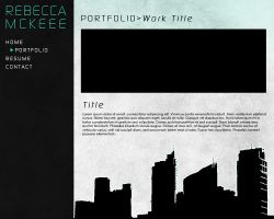 Visual Effects Portfolio Website by dhosford