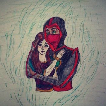 cute couple by ErmacEruErmac
