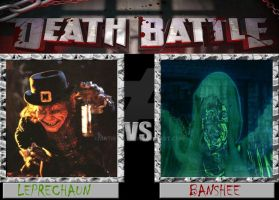 Leprechaun Vs. Banshee by ARTIST-SRF