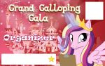 Galacon Ticket art: Organizer by Rautakoura