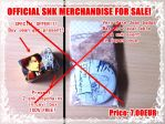 [SOLD OUT!] SNK RARE JAPAN EVENT JEAN BADGE NEW! by xXBeatoUshiromiyaXx