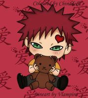 Chibi Gaara by ChInAdOlli
