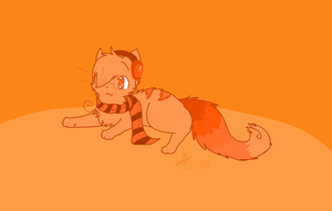 Seeing Orange? by The-stray-cat