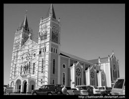 baguio cathedral by battlesmith