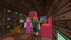 Adventure Time | Minecraft by P1xeLin
