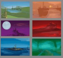 Game World Thumbnails by ZackRI