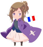 Fem! France by SoulTheUmbreon