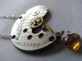 Steampunk Necklace by rhin-sowilo