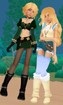 Oh Hey I Finally Finished These Two. by MMDKoala