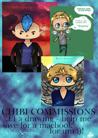 commissions poster by flatlandq