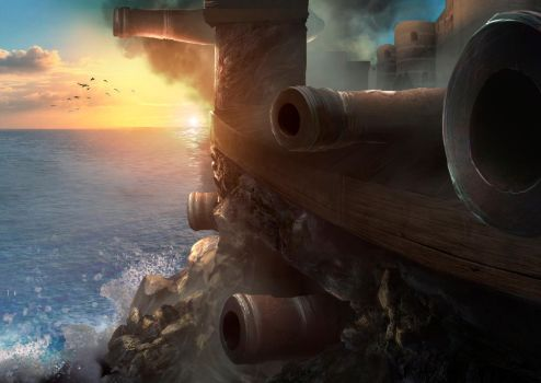 Heavy Cannons by TiagoSilverio