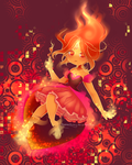 Flame Princess by BlubberBunny