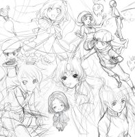 May 2010 Wips by Kaze-Hime
