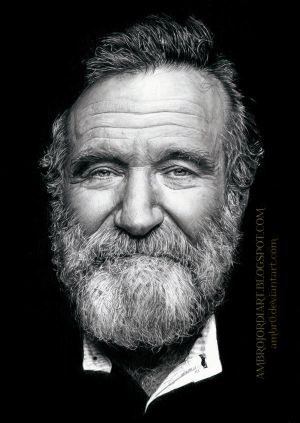Robin Williams by AmBr0