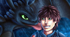 How To Train Your Dragon by TobeyD