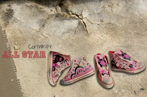 Converse all star by d3bbyeglitter