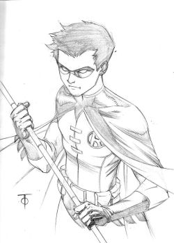 Robin sketch by 0boywonder0