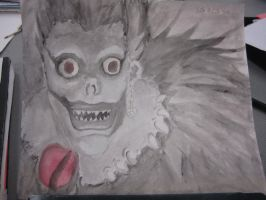 Ryuk Watercolor by GaBrIeLlA123