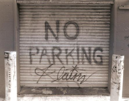 No Parking by zephyr-kaze