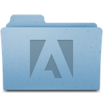 Mac OS X Adobe Folder by TheFlyestNerd